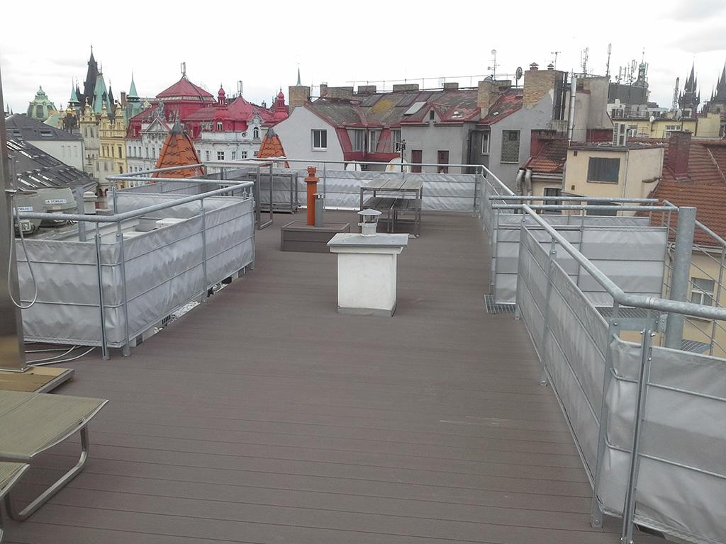 Zábradlí Praha